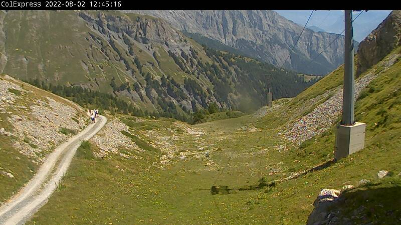 Webcam Ovronnaz, Col Express